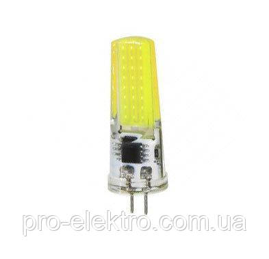 Светодиодная лампа BIOM silicon G4-5W-220 Белый, фото 2