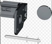 Адаптер монтажа Sirco M 16-80 А на дверь (22993309)