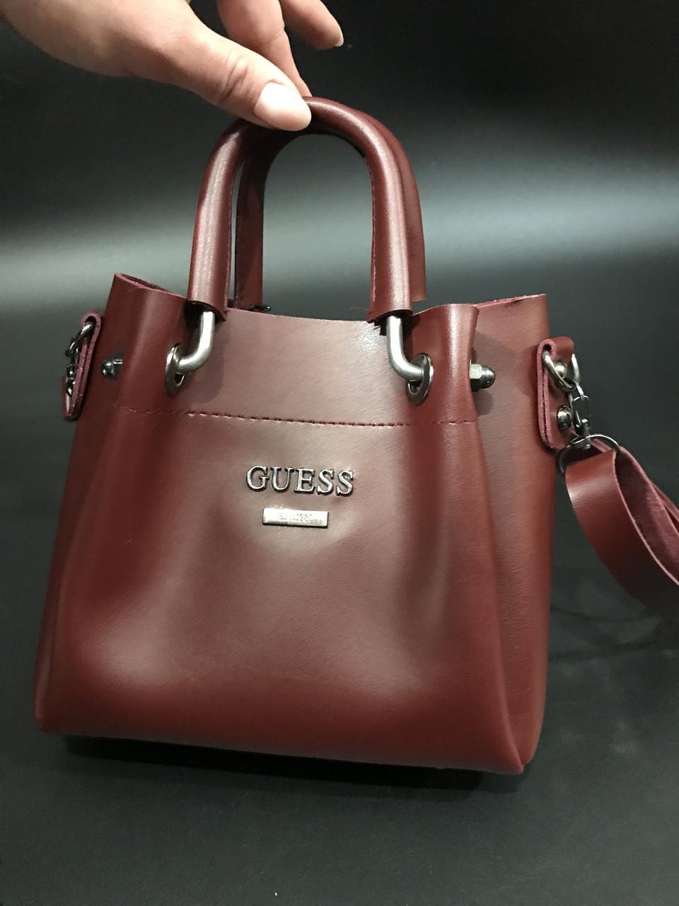 7505cbb9a3a6 сумка женская Crossbody маленькая с ручками Guess через плечо