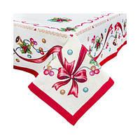Скатерть Гобеленовая Новогодняя  150-220 см. в подарочной упаковке, фото 1