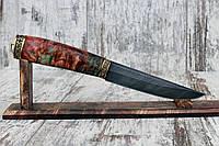 """Нож ручной работы из дамасской стали """"Горец"""""""