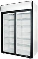 Шкаф холодильный cо стеклянными дверьми POLAIR DM 114Sd-S