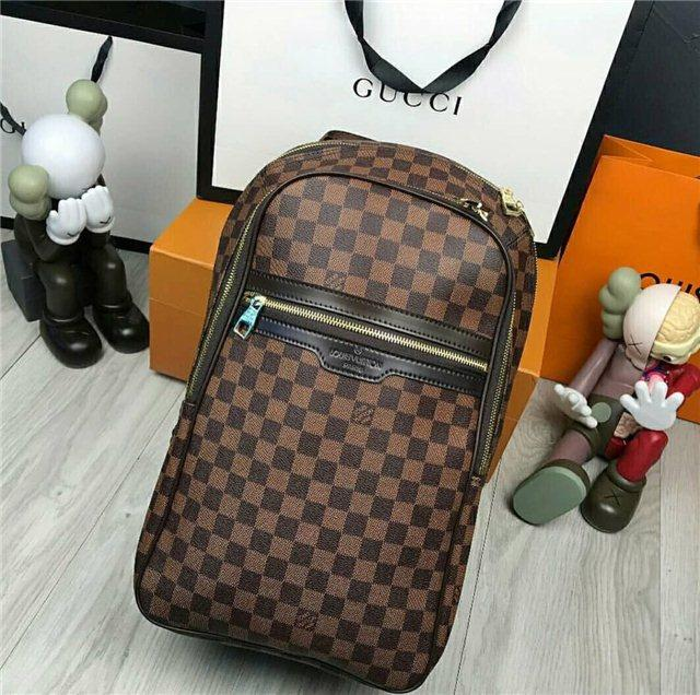 Рюкзак Louis Vuitton D4732 коричневый