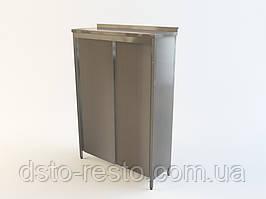 Шкаф с раздвижными дверьми на пять полок 1500/500/1800 мм