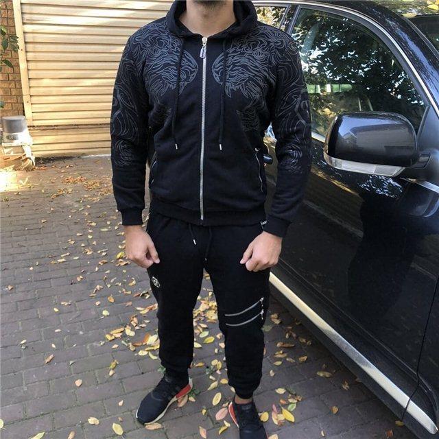 82c8b3352bcd Спортивный костюм Philipp Plein 19072 черный - купить по лучшей цене ...