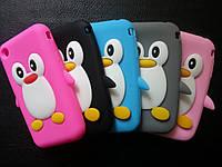 """Любой Силиконовый чехол """"Пингвин"""" iphone 3/3s"""