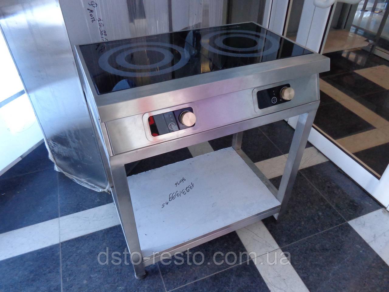 Плита индукционная 2-х конф. на подставке ПИ3.5-2-П
