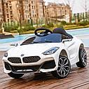 Детский электромобиль BMW Z4, два мотора, MP3, оранжевый, дитячий електромобіль, фото 2