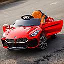 Детский электромобиль BMW Z4, два мотора, MP3, оранжевый, дитячий електромобіль, фото 6