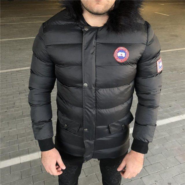 3fa03ae7cec Куртка мужская Canada Goose 19057 черная - купить по лучшей цене