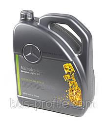 Масло моторное 5W30 (5 л) MB 229.51 (с сажевым фильтром) — MERCEDES ORIGINAL — 000989940213