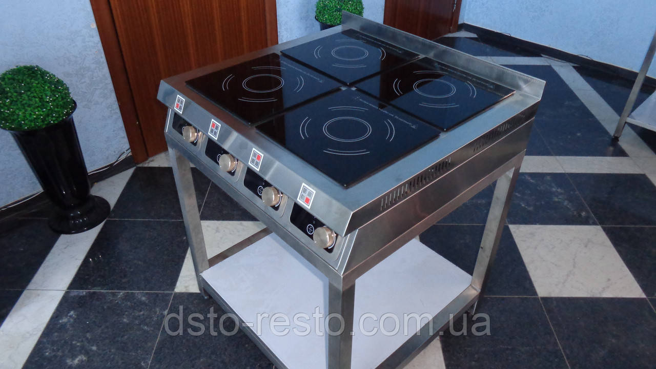 Плита индукционная 4-х конф. на подставке ПИ2-4-П