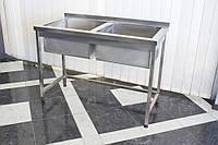 Ванна моечная 2-х секционная 1200/600/850 мм, фото 1