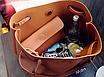 Женская сумка большая молодежная с кошельком шоппер Серый, фото 3