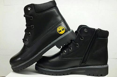 Подростковые кожаные ботинки Timberland. Украина  продажа 02be535ae67c5