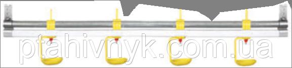 Металлическая оцинкованная несущая труба линий поения