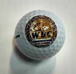 Мяч для гольфа з логотипом WBC