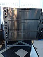 Шкаф пекарский 3-секционный ШПЭ-3 , фото 1