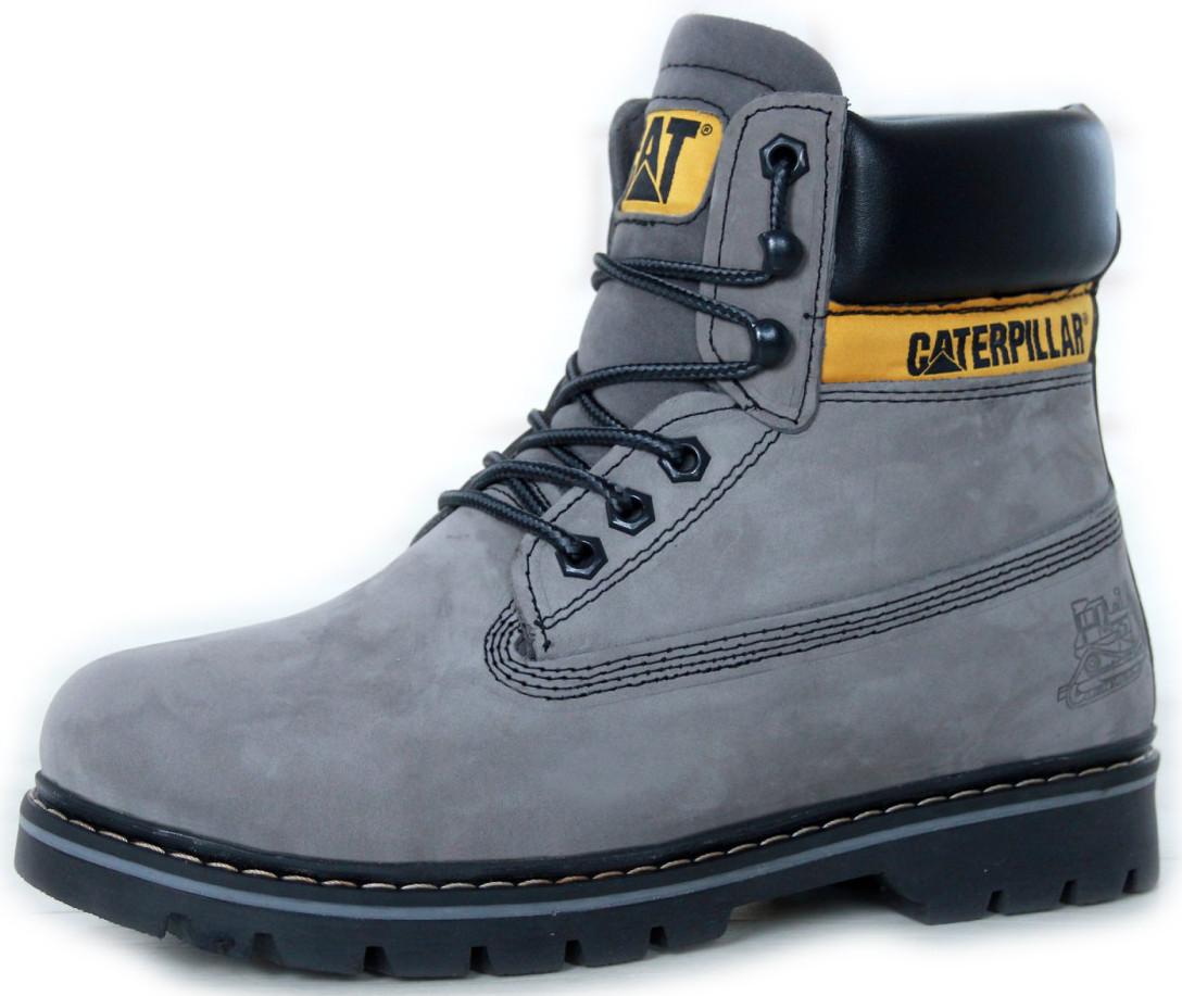 Мужские  ботинки Caterpillar Second Shift Work (CAT) с мехом