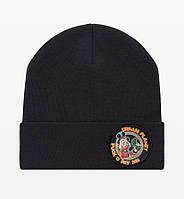 Мужская зимняя черная шапка Urban Planet СN14 FUPM BLK