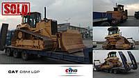Бульдозер CAT D6M LGP отправился в город Киев.