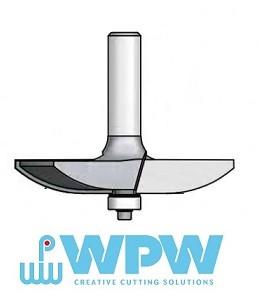 """Фреза для изготовления филенок  """"радиус""""  WPW (Израиль)"""