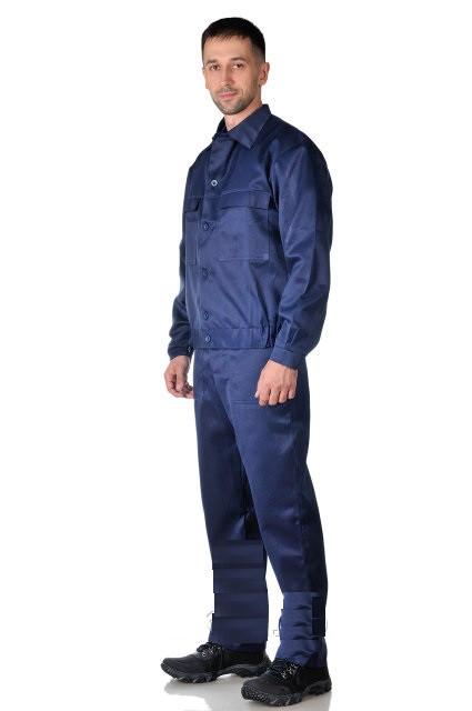 Костюм рабочий Лидер, костюм рабочий куртка, полукомбинезон