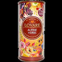 """Чай LOVARE на основе травяного """"Альпийские травы"""" 80г, 10шт/ящ"""