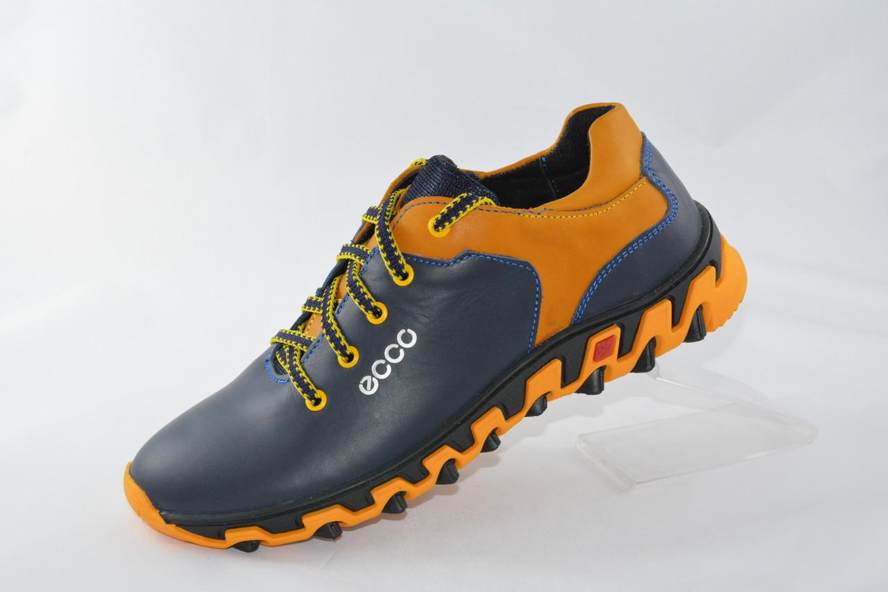 14e07ad8eadb91 Подростковые кожаные кроссовки ECCO. Украина - Интернет-магазин
