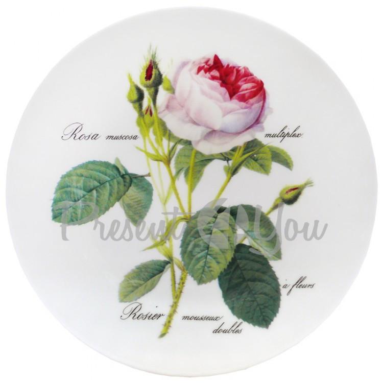 Тарелка «Роза Редаут» d-20 см.