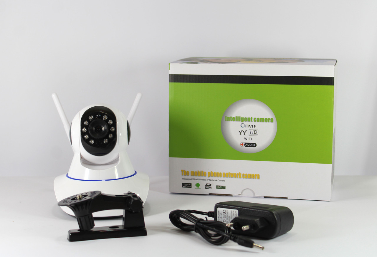 IP камера видеонаблюдения с wifi 6030B/100ss , TF PT2
