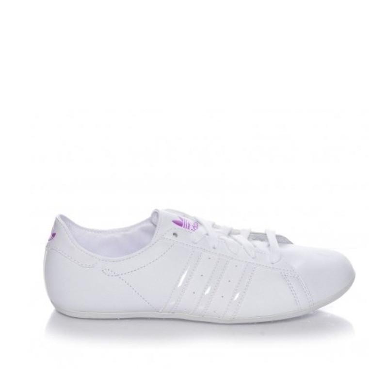 Кроссовки женские adidas Campus Round V20859 (белый, перфорированная кожа, повседневные, летние, бренд адидас)