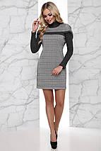Женское деловое платье в клетку (Эммаjd), фото 2