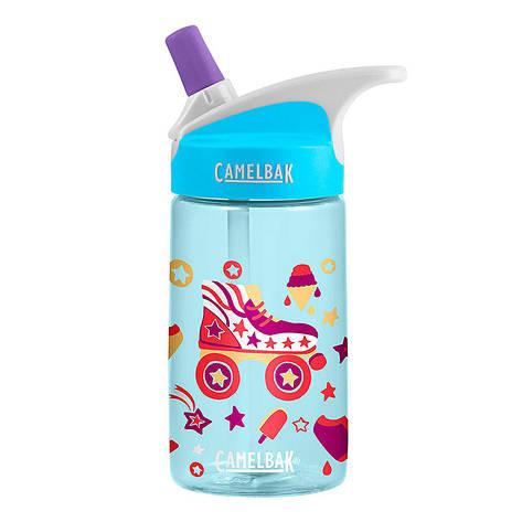 Детская бутылка для воды CamelBak eddy Kids 0.4L Roller Skates, фото 2