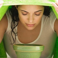 Очищение пор паровой ванной