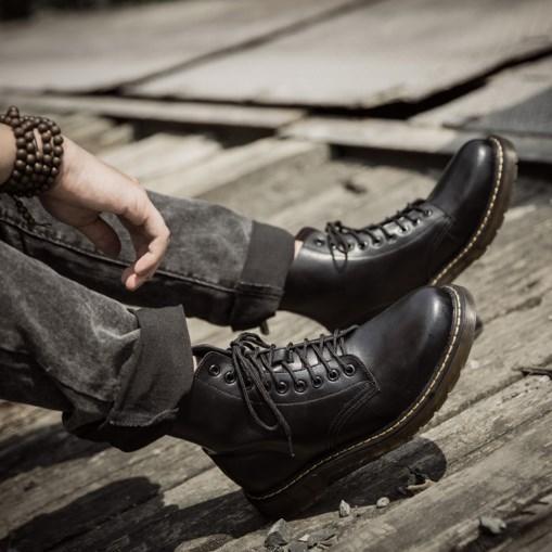 Мужские ботинки. Модель 18165