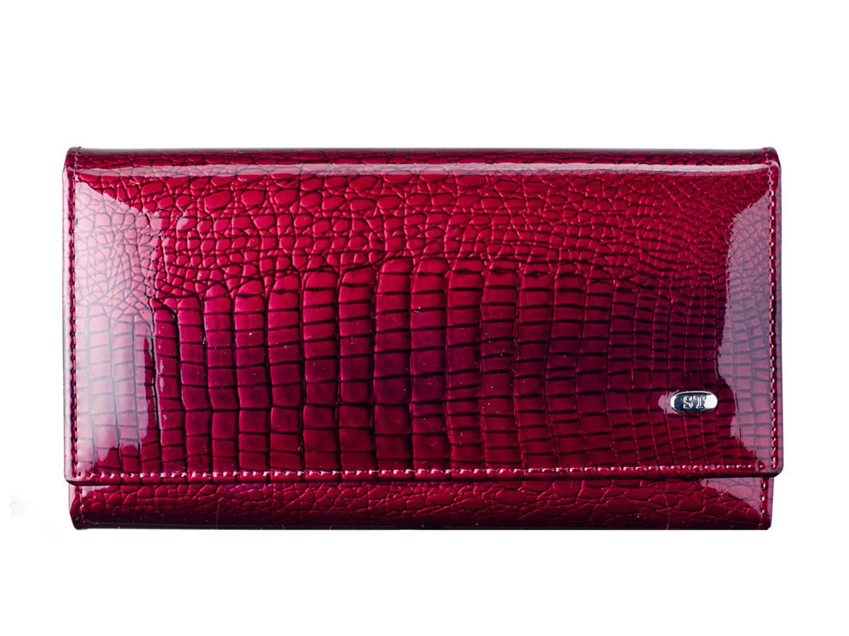 e1e8d84a24aa Купить сейчас - Кошелек женский кожаный ST AE-46 Jujube Red: 733 грн ...