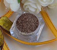 Перламутр Коричневый (№61); 100 грамм