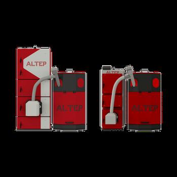 Котёл пеллетный Альтеп DUO UNI Pellet 62 кВт с факельной горелкой ALTEP