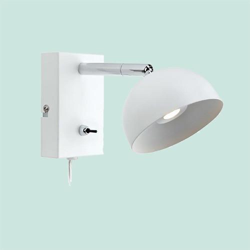 Бра Markslojd  Bas 105406 1х2Вт LED белый/металл