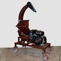 Подрібнювач деревини до 80 мм (Щепоріз) з бензиновим двигуном 16к.с.
