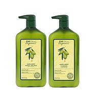 Набор для волос и тела CHI Olive Organics Hair and Body Set (большой)