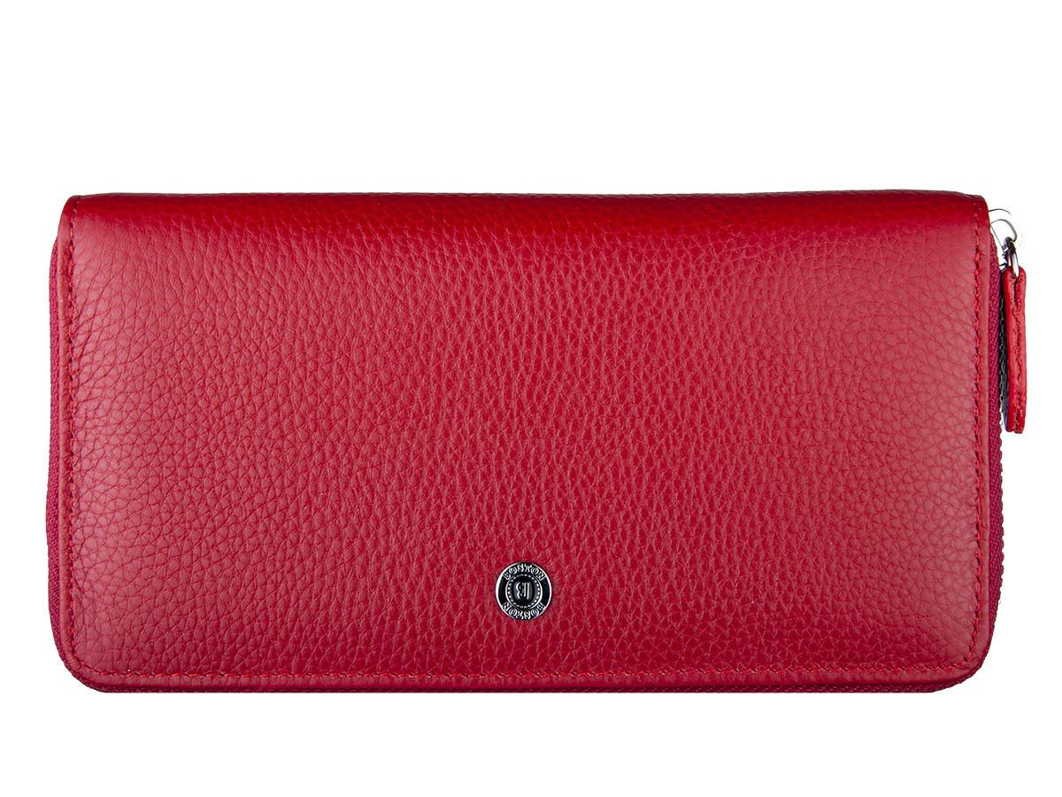 3fa8cf370b23 Кошелек женский кожаный Boston B208 Red: 655 грн. - Кошельки ...