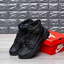 """Зимние кроссовки Nike M2K Tekno Mid """"Black"""" (Черные), фото 2"""
