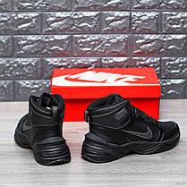 """Зимние кроссовки Nike M2K Tekno Mid """"Black"""" (Черные), фото 3"""