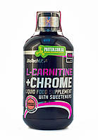 Л-карнитин BioTech L-Carnitine + Chrome 500 ml апельсин