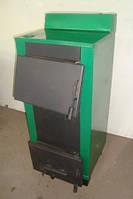 Одноконтурный твердотопливный котел Огонек - 25В (двухконтурный)