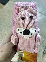 """Носки подарочные.Тапочки тёплые. Носки детские, тёплые, домашние, """"Бурундук"""""""