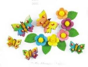 "Набор ""Бабочки ,цветочки"" Украса  - 01039"