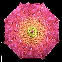 Женский зонт автомат AVK 115-2 розовый антиветер